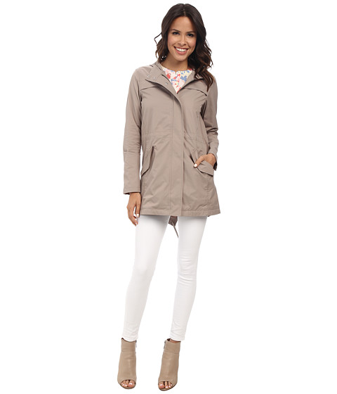 NYDJ - Brushed Twill Anorak (Durango) Women