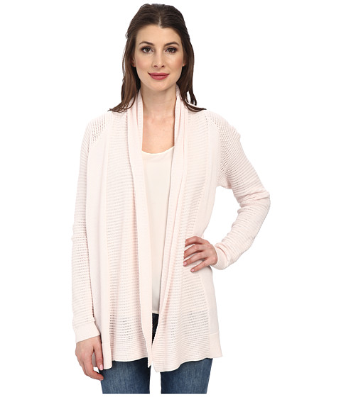 NYDJ - Draped Front Mesh Cardigan (Petal) Women's Sweater