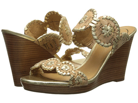 Jack Rogers - Luccia (Cork) Women's Beads/Ornaments Shoes