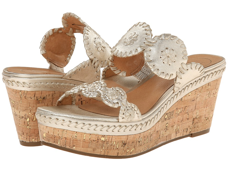 Jack Rogers - Leigh (Gold) Women's Sandals