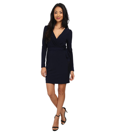 Jessica Simpson - Ity Faux Wrap Dress (Blue) Women's Dress