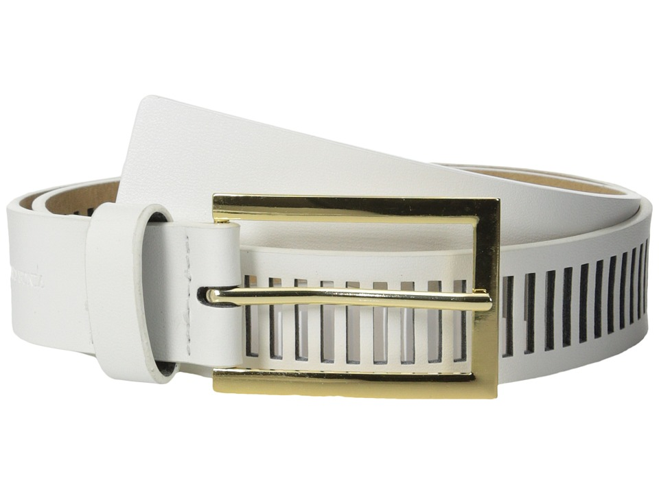 Vince Camuto - 30mm Smooth Panel w/ Perf (White) Women
