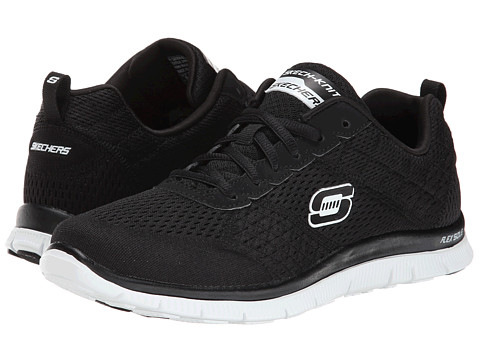 SKECHERS - Obvious Choice (Black White) Women