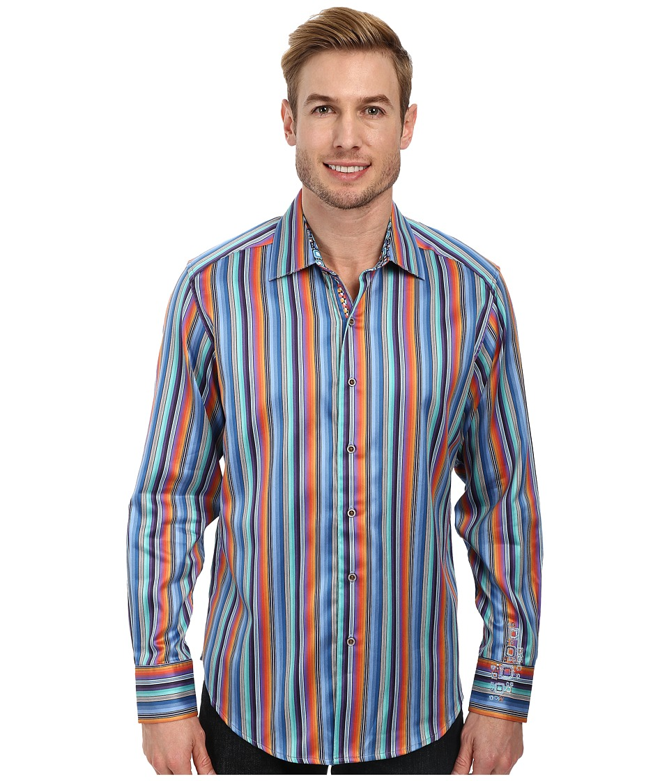 Robert Graham - Waterfall L/S Sport Shirt (Multi) Men's Long Sleeve Button Up