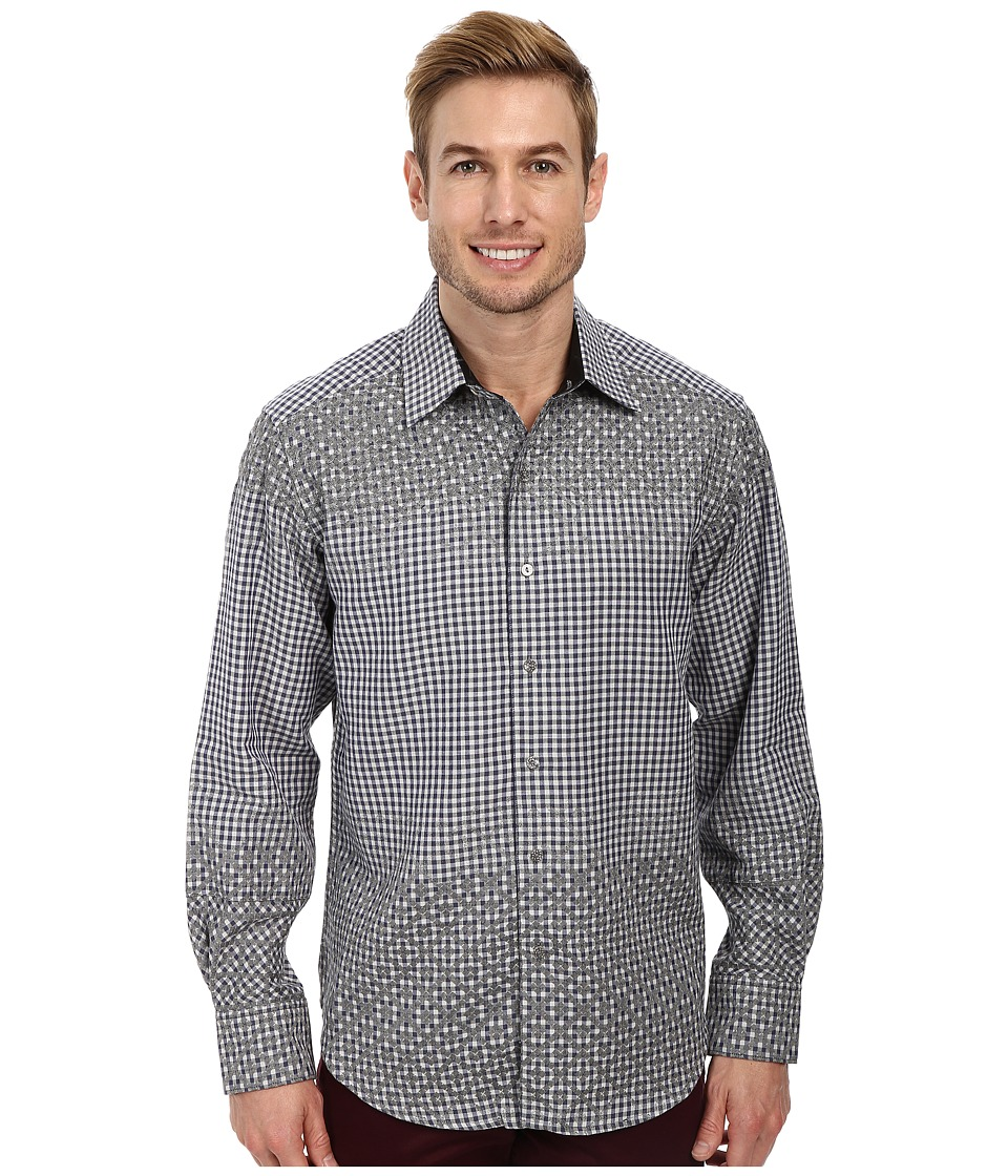 Robert Graham - Good Life L/S Woven Shirt Limited Edition (Navy) Men's Long Sleeve Button Up