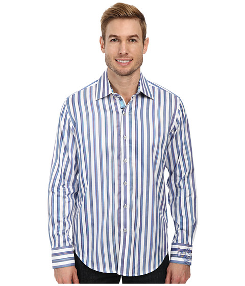 Robert Graham - Shipwreck L/S Sport Shirt (White) Men