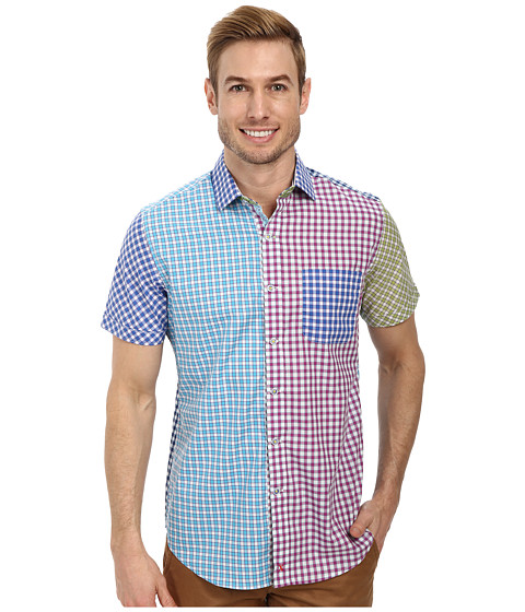 Robert Graham - X Tailored Fit Schooner S/S Sport Shirt (Multi) Men