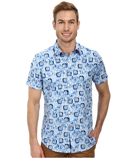 Robert Graham - X Tailored Fit Skiff S/S Shirt (Multi) Men
