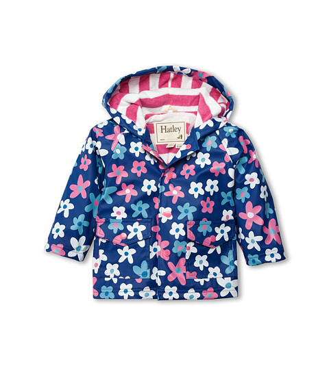 Hatley Kids - Summer Garden Raincoat (Infant) (Purple) Girl's Coat