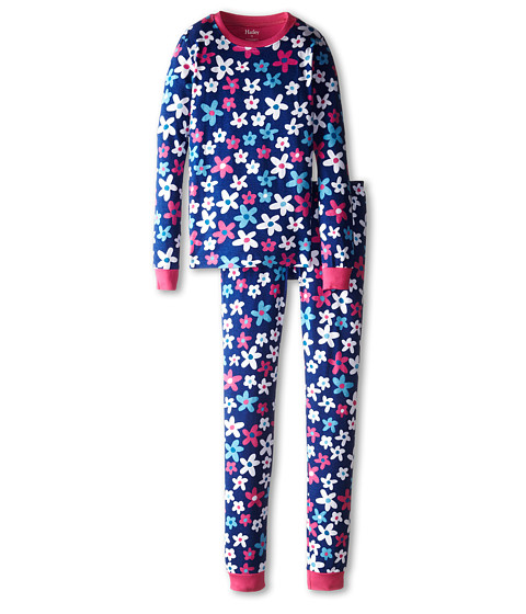 Hatley Kids - Summer Garden PJ Set (Toddler/Little Kids/Big Kids) (Purple) Girl's Pajama Sets