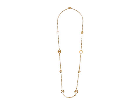 LAUREN by Ralph Lauren - 36 Small and Medium Crossbar Illusion Necklace (Gold) Necklace