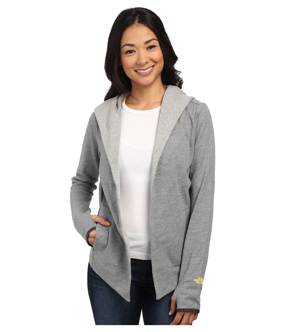 The North Face - Harmony Park Wrap (Heather Grey) Women's Long Sleeve Pullover