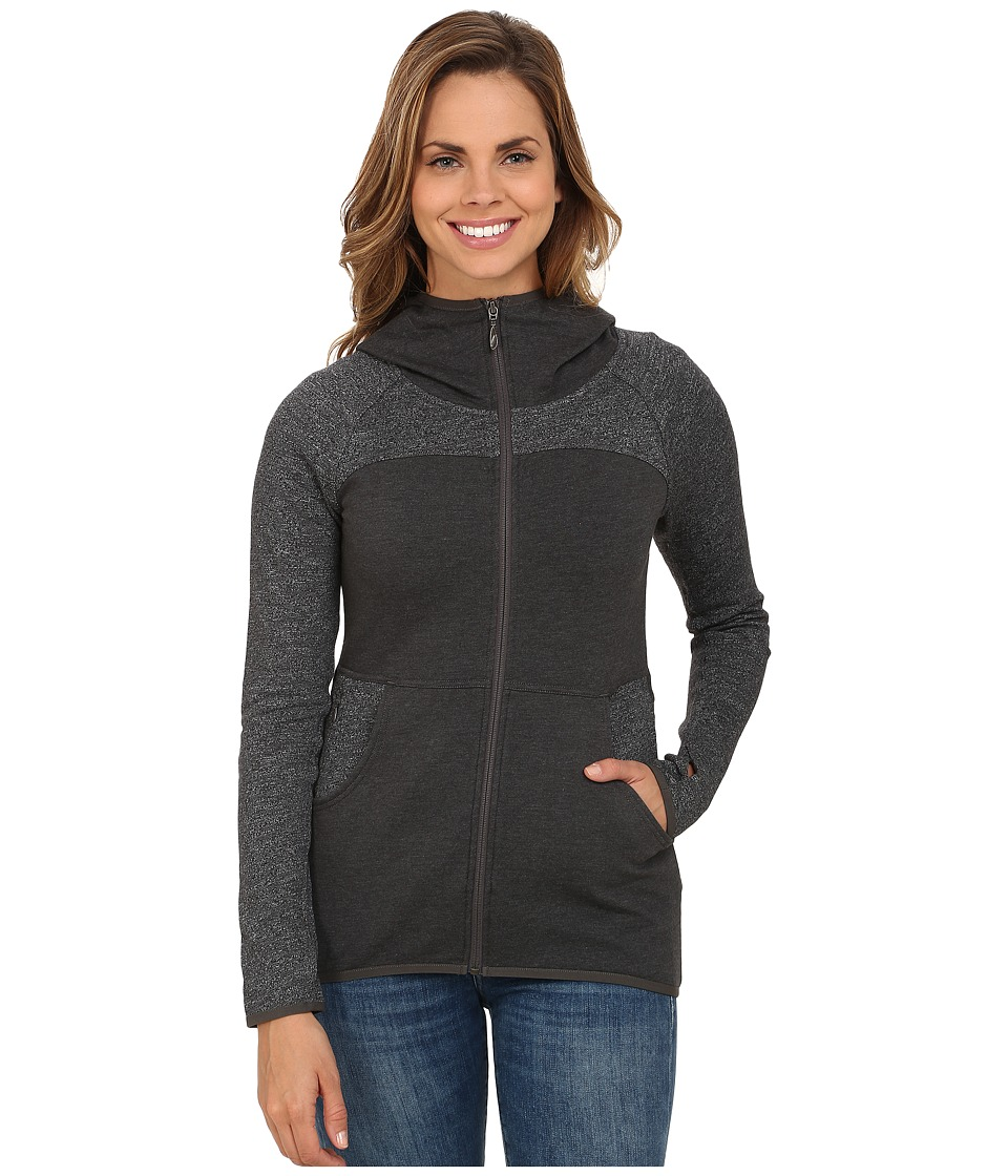The North Face - Harmony Park Pullover (Charcoal Grey Heather) Women's Long Sleeve Pullover