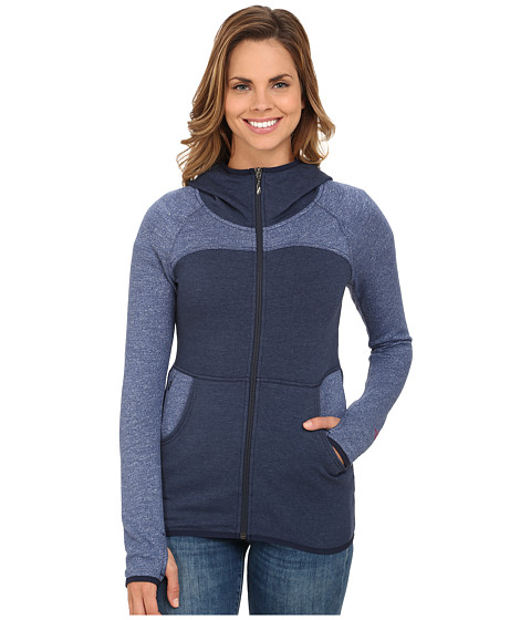 The North Face - Harmony Park Pullover (Cosmic Blue Heather) Women