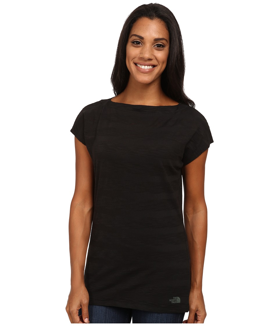 The North Face - S/S Gracie Top (TNF Black) Women's Short Sleeve Pullover