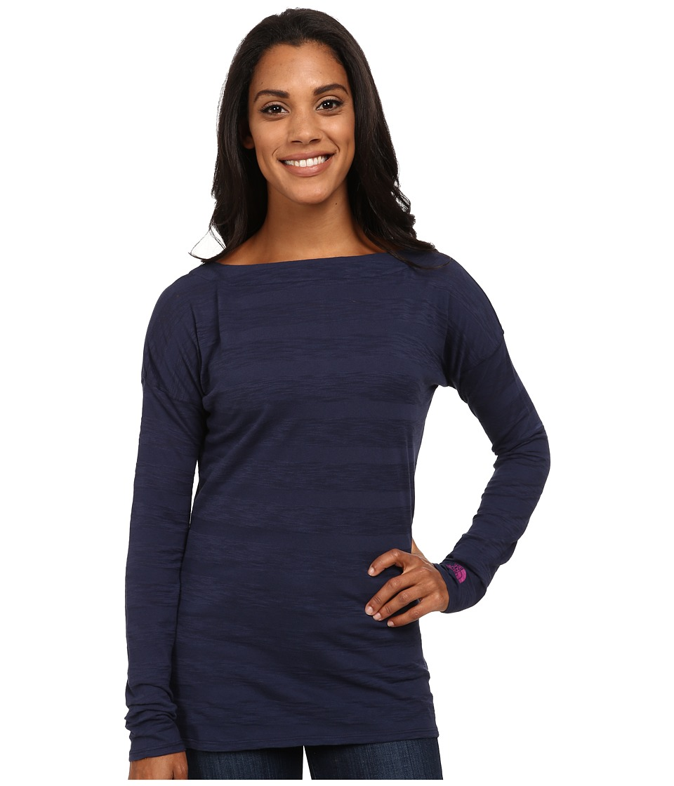 The North Face - L/S Gracie Top (Cosmic Blue) Women's Long Sleeve Pullover