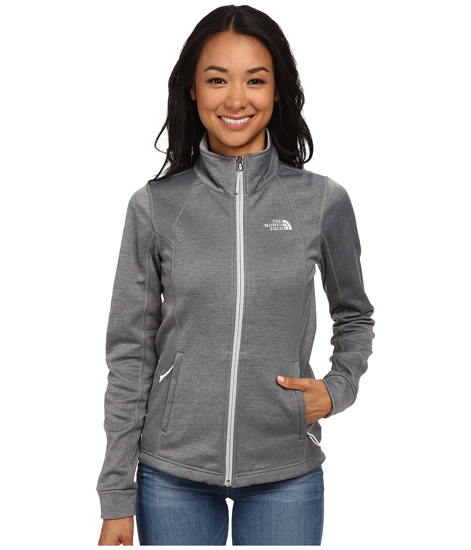 The North Face - Momentum Jacket (High Rise Grey Heather) Women's Coat