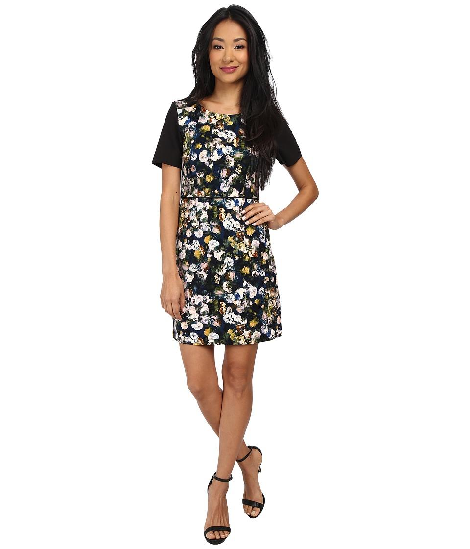 Yumi - Dark Garden Dress (Multi) Women's Dress