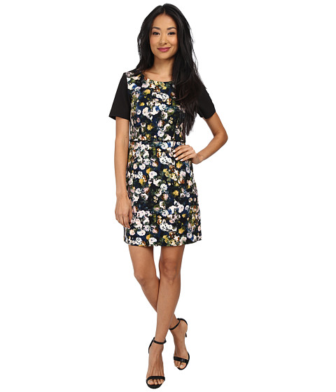 Yumi - Dark Garden Dress (Multi) Women's Dress