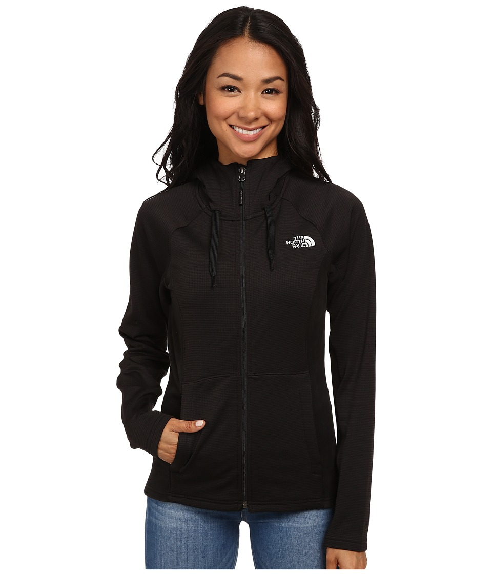 The North Face - Castle Crag Hoodie (TNF Black Stripe/TNF Black) Women's Sweatshirt