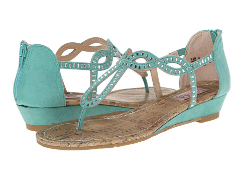 DOLCE by Mojo Moxy - Fantasy (Turquoise) Women's Toe Open Shoes