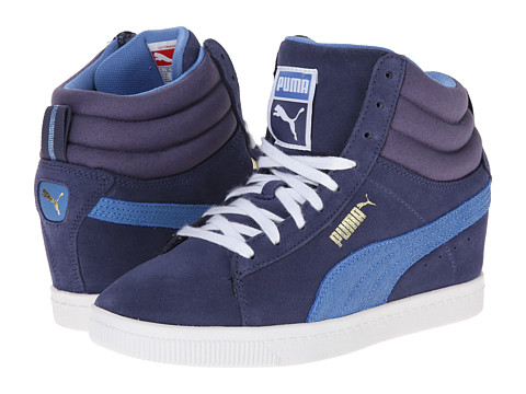 PUMA - PC Wedge Basic Sports (Crown Blue) Women's Shoes
