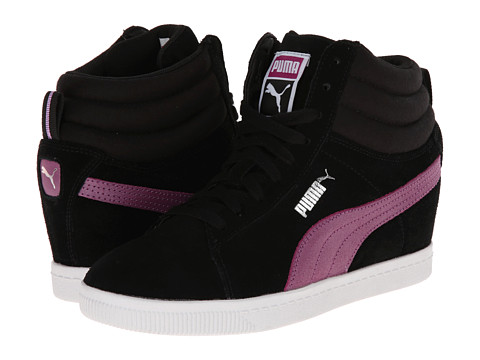 PUMA - PC Wedge Basic Sports (Black) Women's Shoes