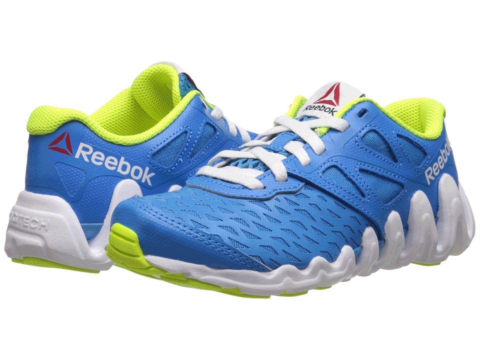 Reebok Kids - ZigTech Big N Tough (Little Kid) (Energy Blue/Blue Beam/Solar Yellow/White) Boys Shoes