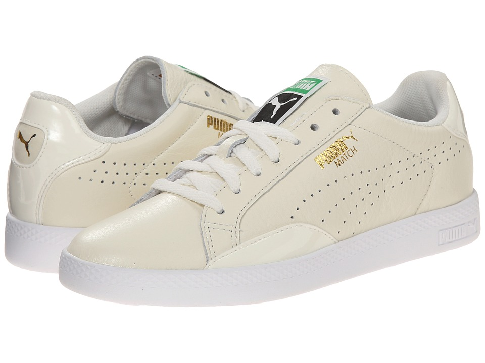 PUMA - Match Lo (Whisper White/White) Women's Shoes
