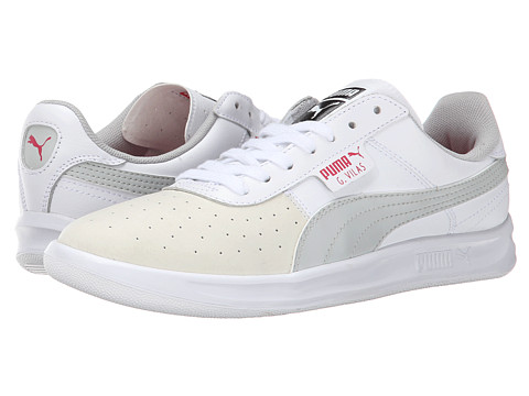 PUMA - G Vilas Basic Sport (Geranium/Steel Grey) Women's Shoes