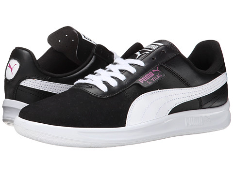 PUMA - G Vilas Basic Sport (White/Black) Women's Shoes