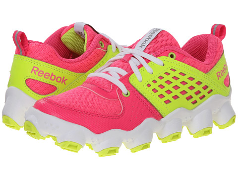Reebok Kids - ATV19 Ultimate II (Little Kid) (Solar Pink/Solar Yellow/White) Girls Shoes