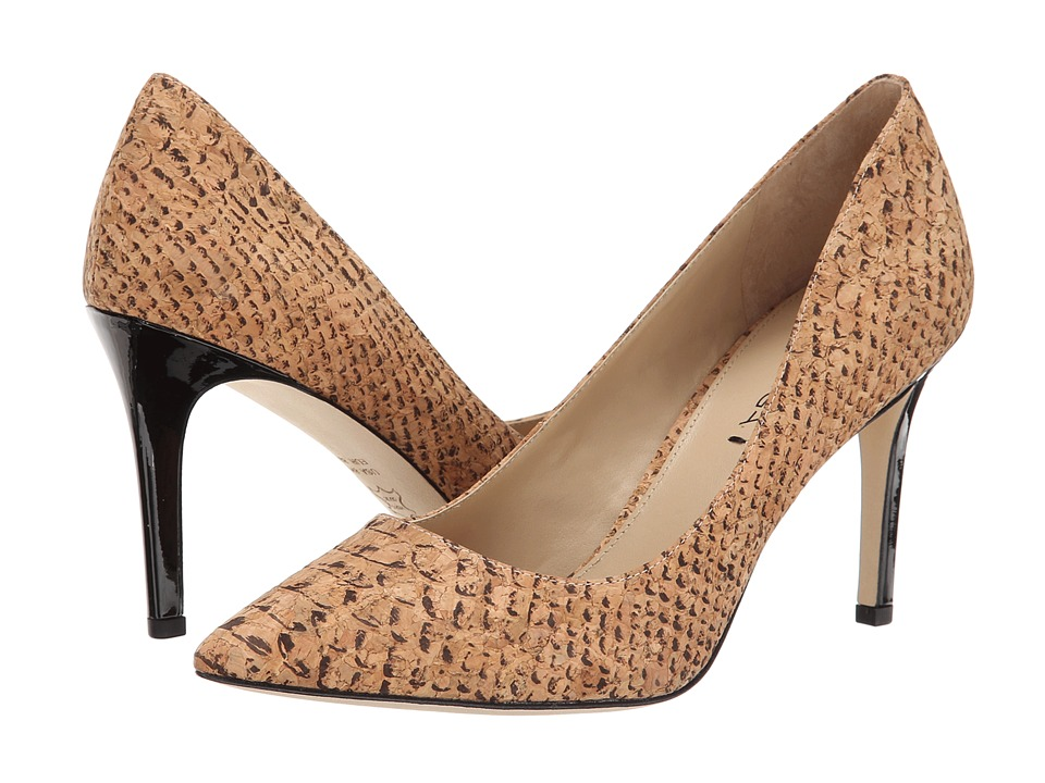 Via Spiga - Carola (Natural Snake Printed Cord) High Heels