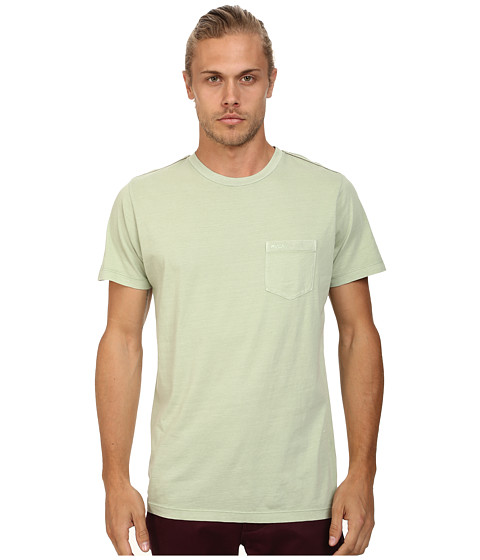 RVCA - PTC 2 Pigment Knit Tee (Smoke Green) Men
