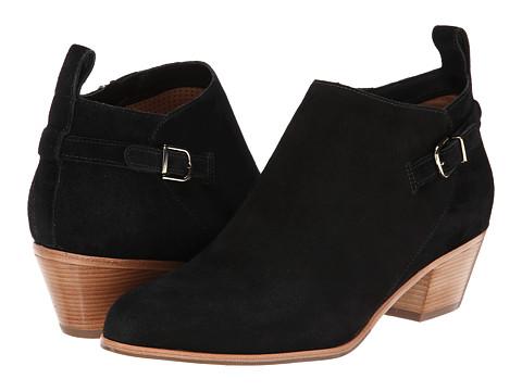 Via Spiga - Caylin (Black Sport Suede) Women's 1-2 inch heel Shoes