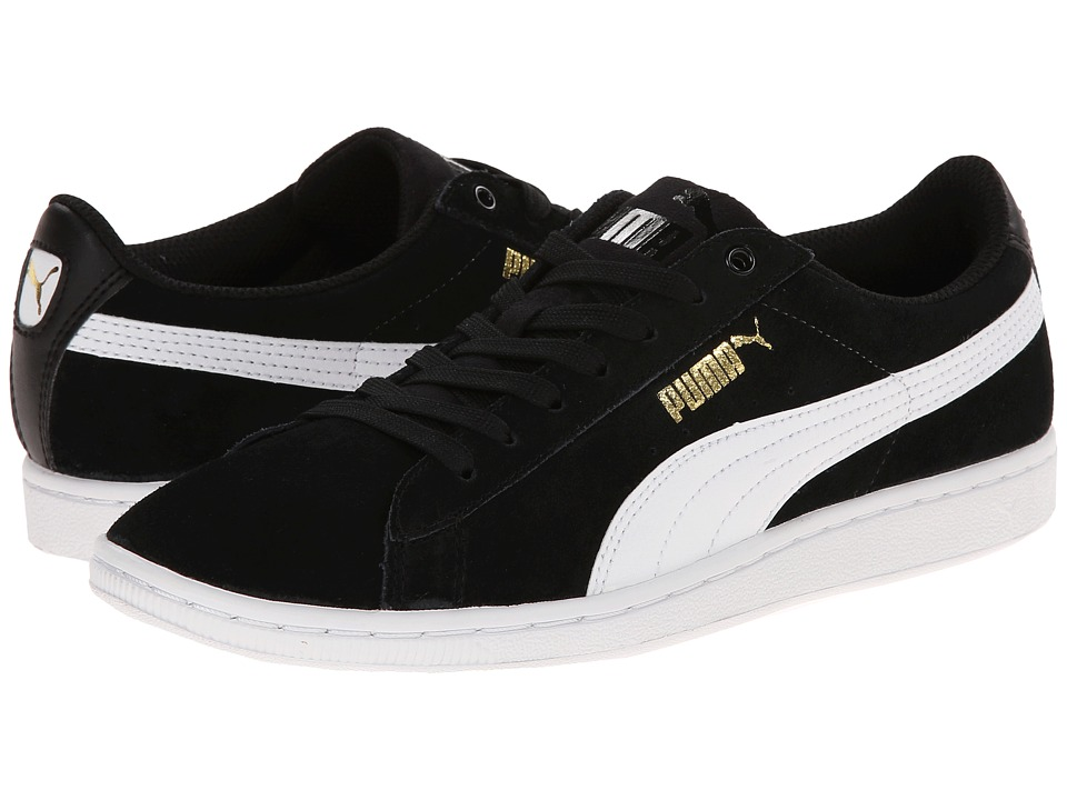 PUMA - Vikky (Black/White) Women's Shoes