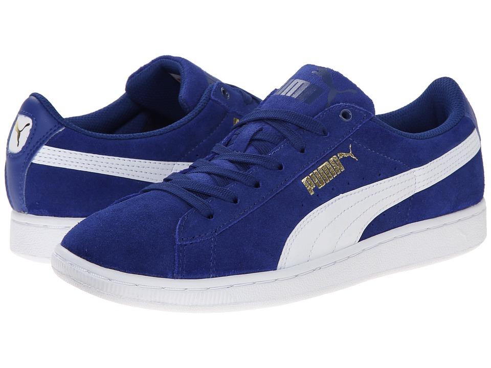 PUMA - Vikky (Clematis Blue/White) Women's Shoes