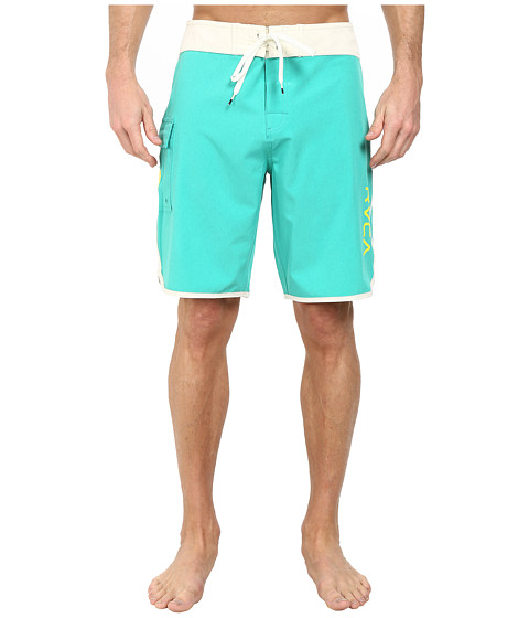 RVCA - Eastern 20 Trunk (Bright Green) Men