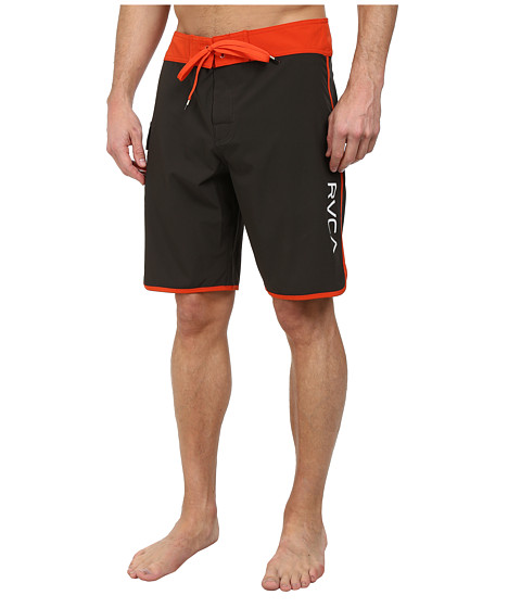 RVCA - Eastern 20 Trunk (Pirate Black) Men's Swimwear