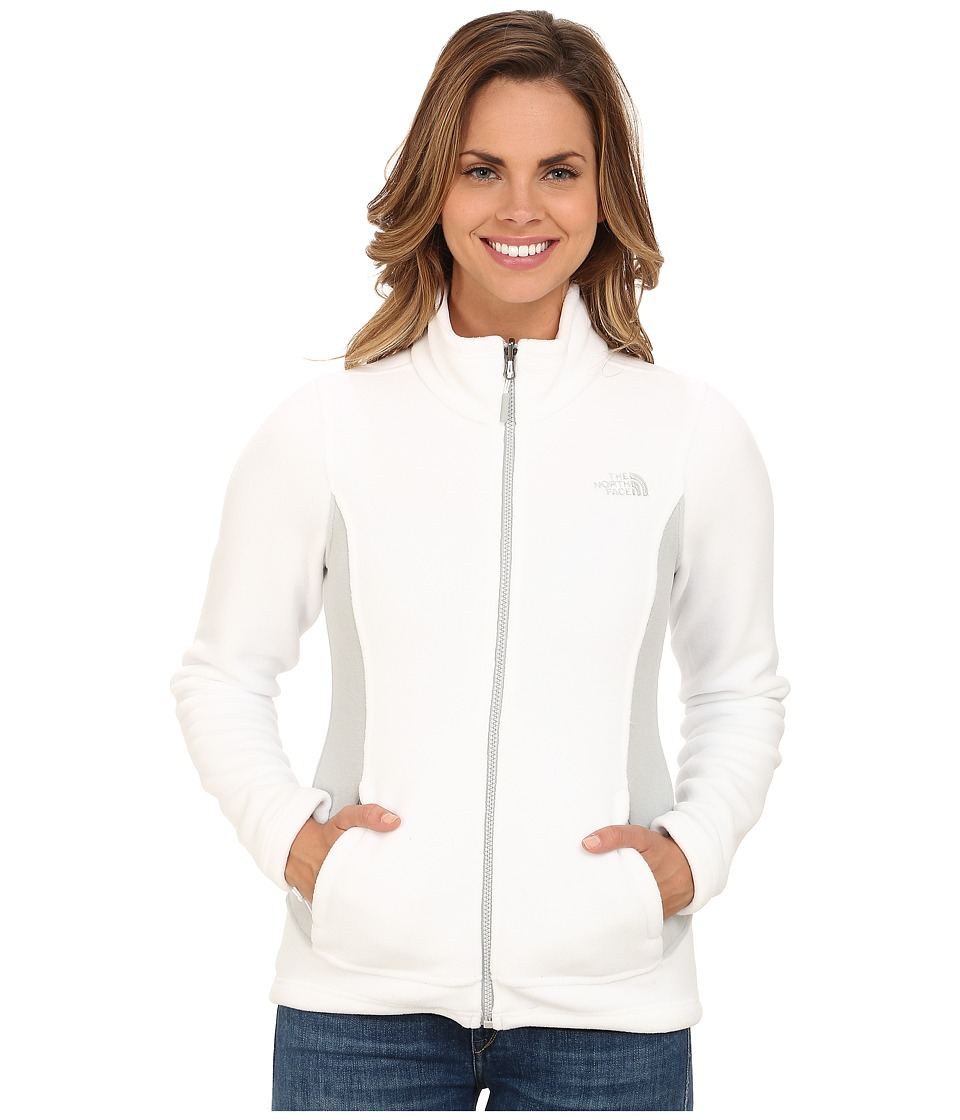 The North Face - Khumbu Jacket (TNF White/High Rise Grey) Women's Coat