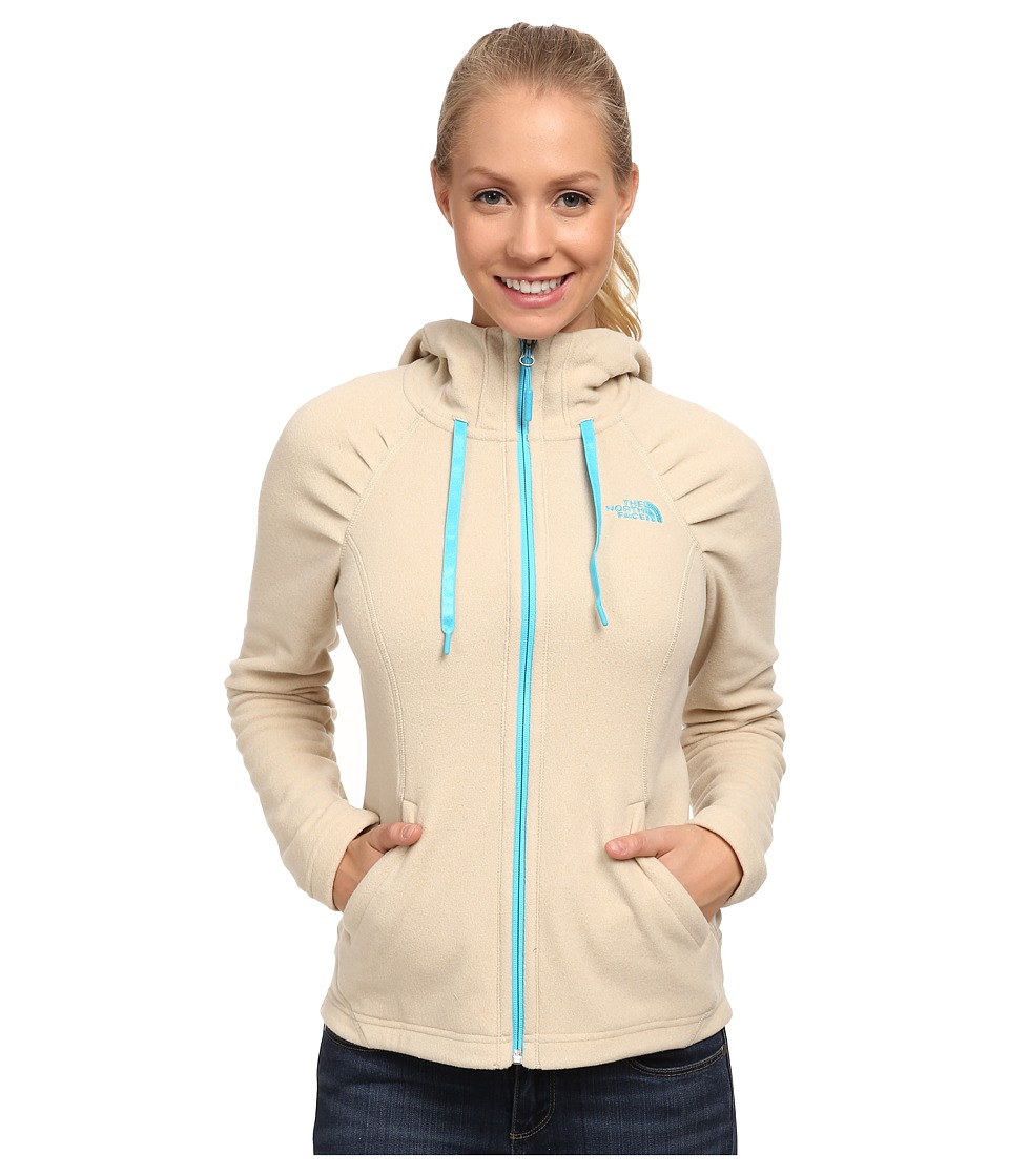 The North Face - Mezzaluna Hoodie (Oatmeal Heather) Women's Sweatshirt