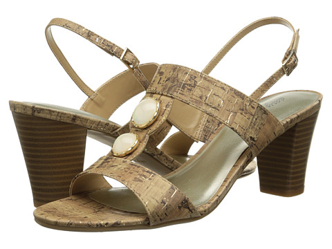 Easy Street - Catalina (Cork w/ Gold Fleck) Women's Shoes