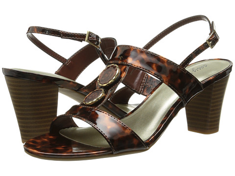 Easy Street - Catalina (Tortoise Patent) Women's Shoes