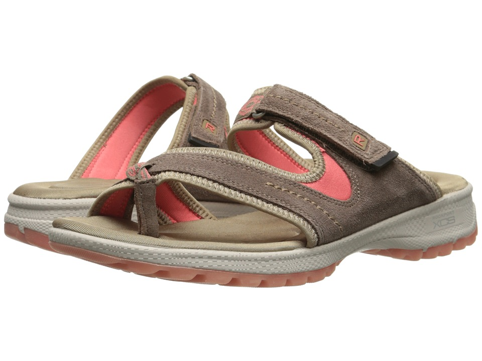 Rockport - Web Thong Slide (New Taupe Suede) Women