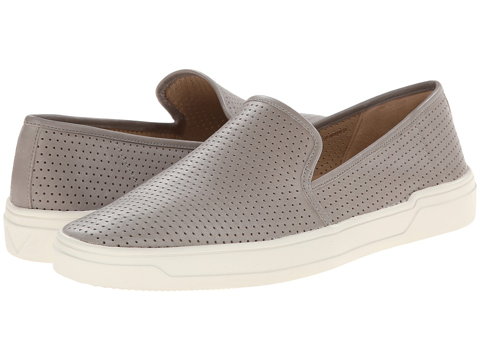 Via Spiga - Galea 5 (Elephant Modena Calf Perf) Women's Slip on Shoes