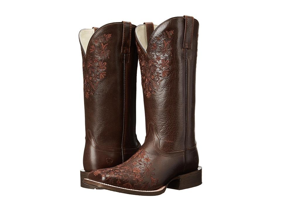 Ariat - Ardent (Mahogany) Cowboy Boots