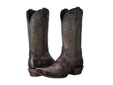 Ariat - Bright Lights (Rustic Black) Cowboy Boots