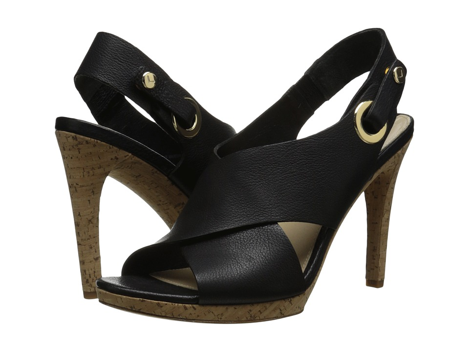 Via Spiga Onitta (Black Safari Calf) High Heels