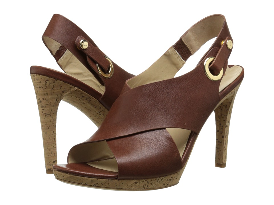 Via Spiga Onitta (Russet Safari Calf) High Heels