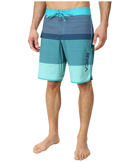 RVCA - Commander Trunk (Deep Teal) Men's Swimwear